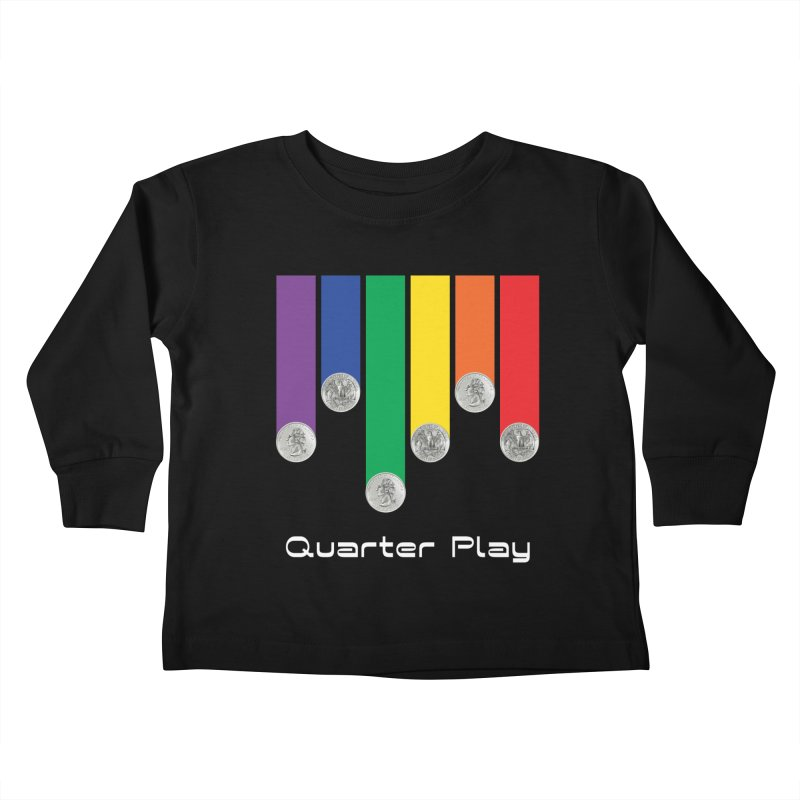 Quarter Play Kids Toddler Longsleeve T-Shirt by The Flipper Room Shop