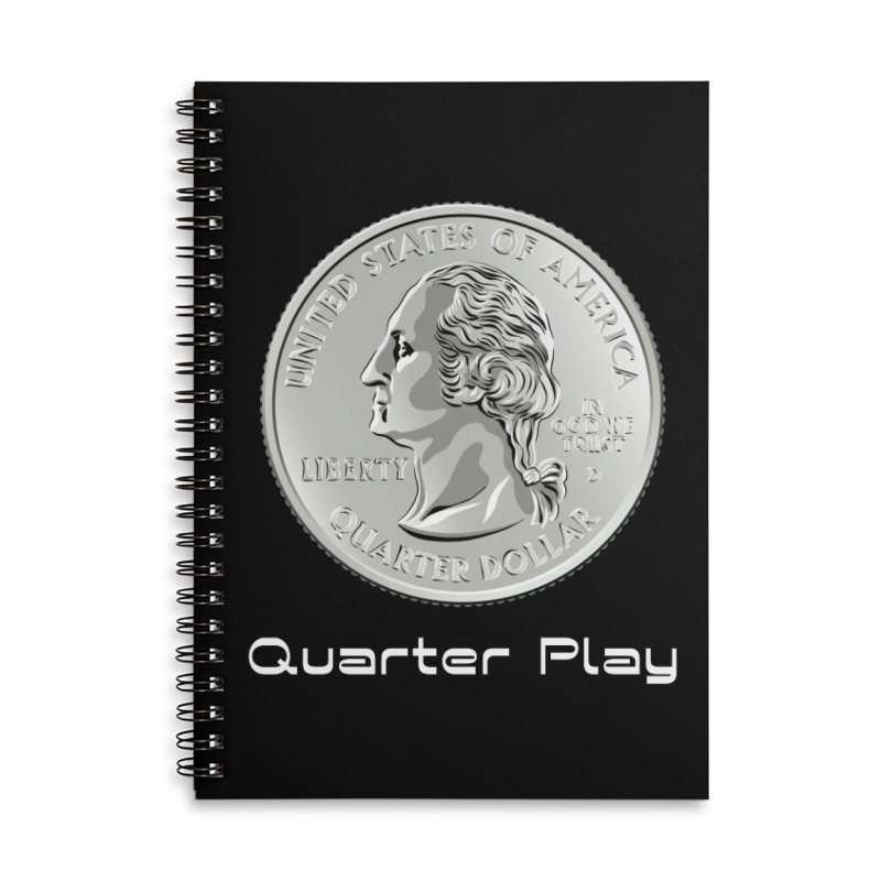 Heads - Quarter Play SWAG Notebook by The Flipper Room Shop