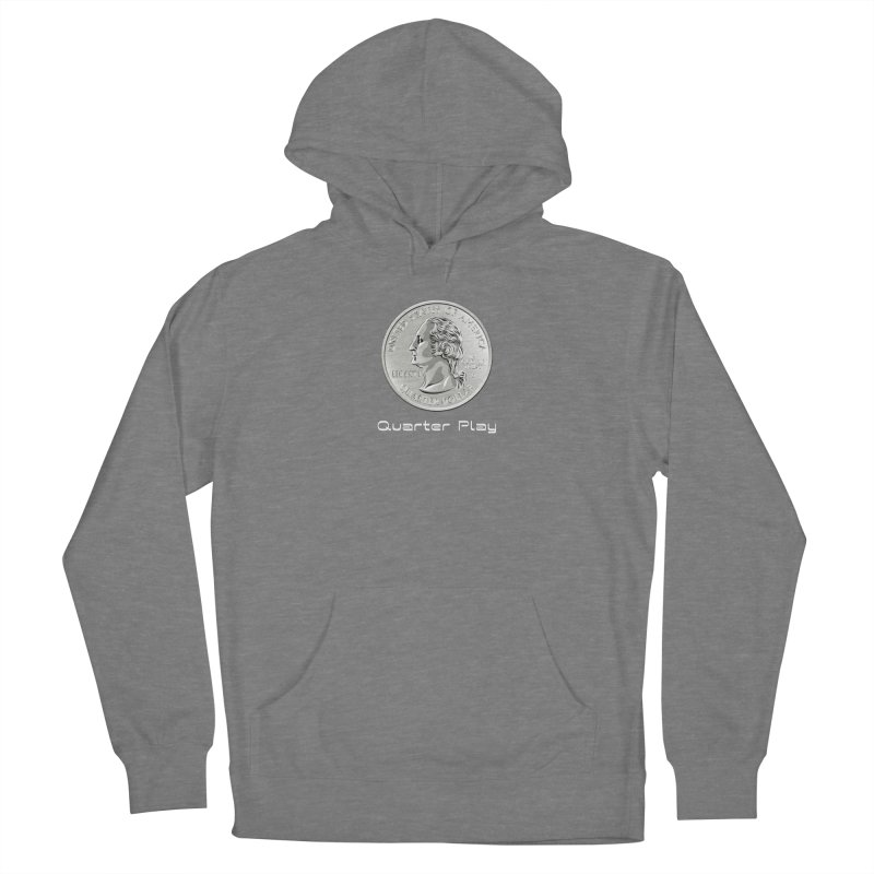 Heads - Quarter Play Women's Pullover Hoody by The Flipper Room Shop