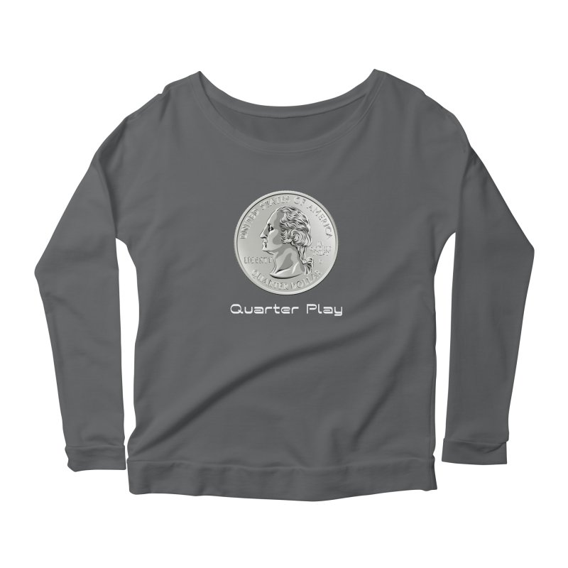 Heads - Quarter Play Women's Longsleeve T-Shirt by The Flipper Room Shop