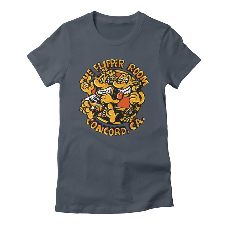 Pinball & Picture Frame Buddies Women's T-Shirt by The Flipper Room Shop