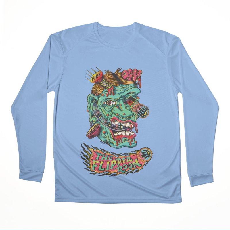 Plungi-head Women's Longsleeve T-Shirt by The Flipper Room Shop