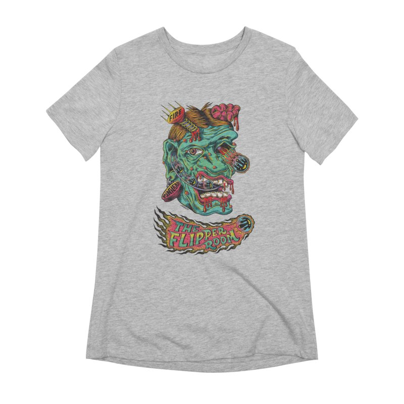 Plungi-head Women's T-Shirt by The Flipper Room Shop