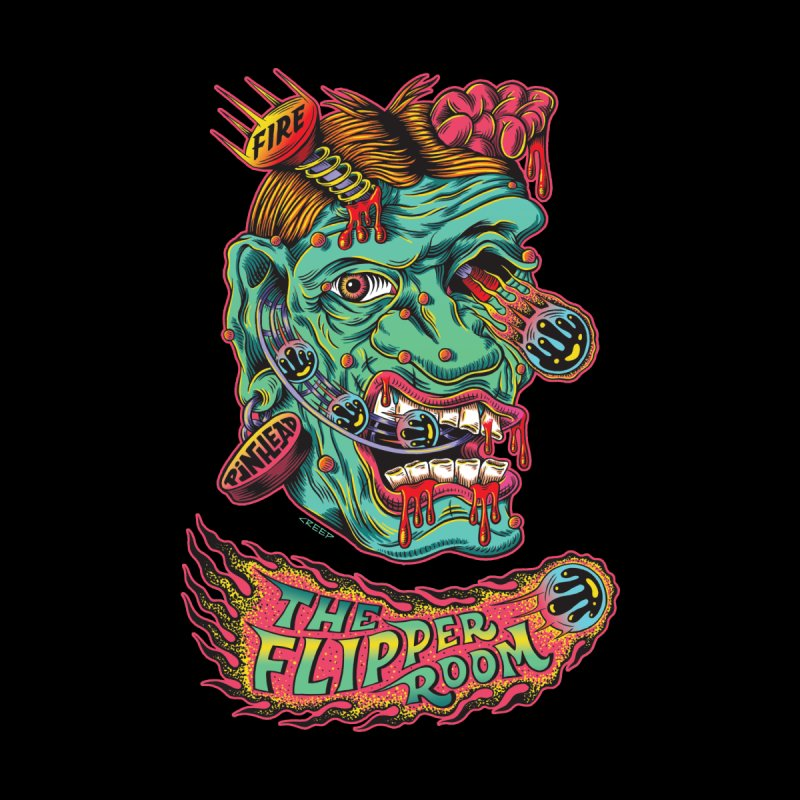 Plungi-head (Black Only) Women's T-Shirt by The Flipper Room Shop
