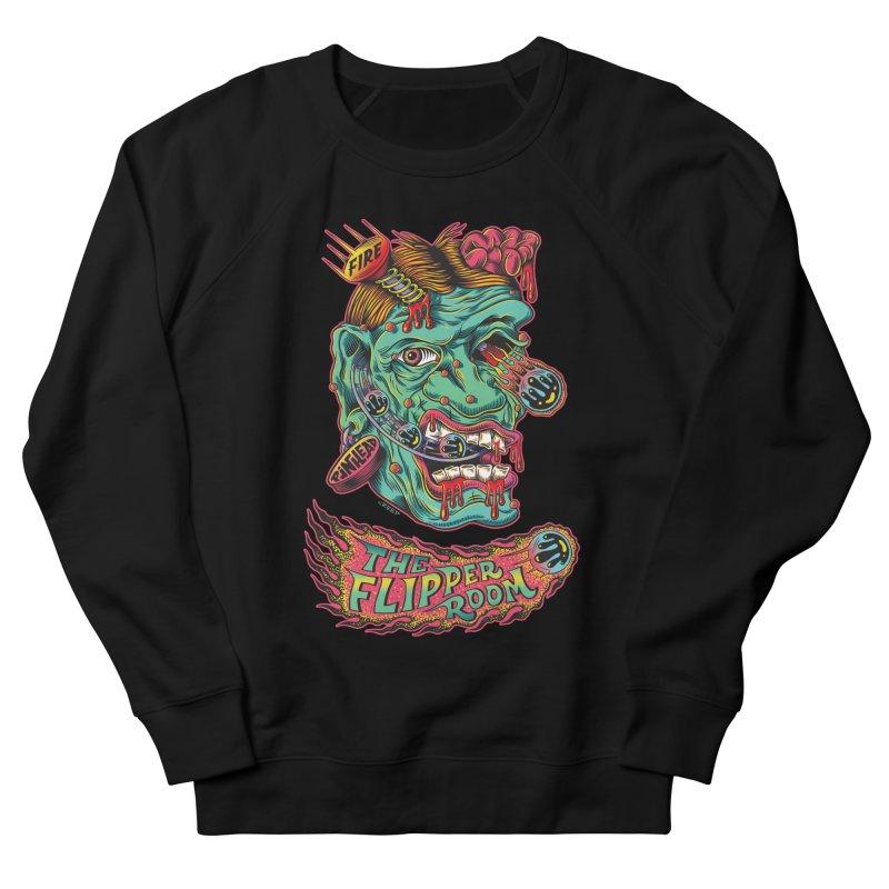 Plungi-head (Black Only) Men's Sweatshirt by The Flipper Room Shop
