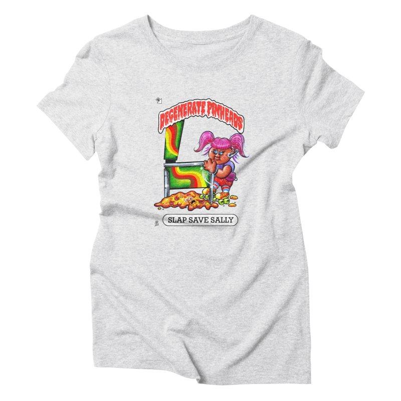 Slap Save Sally Women's T-Shirt by The Flipper Room Shop