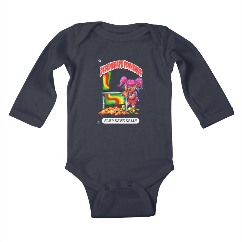 Slap Save Sally Kids Baby Longsleeve Bodysuit by The Flipper Room Shop