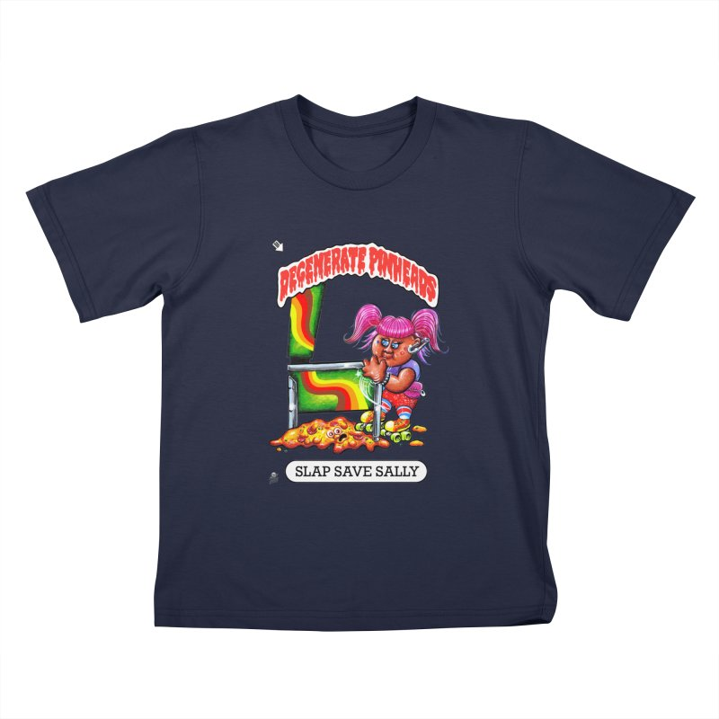 Slap Save Sally Kids T-Shirt by The Flipper Room Shop