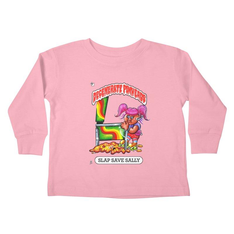 Slap Save Sally Kids Toddler Longsleeve T-Shirt by The Flipper Room Shop