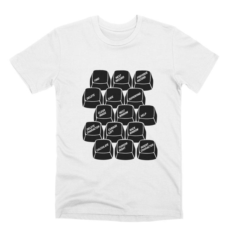 k e y s  0 0 2 Men's T-Shirt by the floppy guy