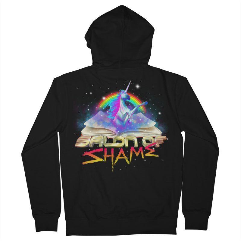 Salon of Shame v2.0 Men's Zip-Up Hoody by the floppy guy