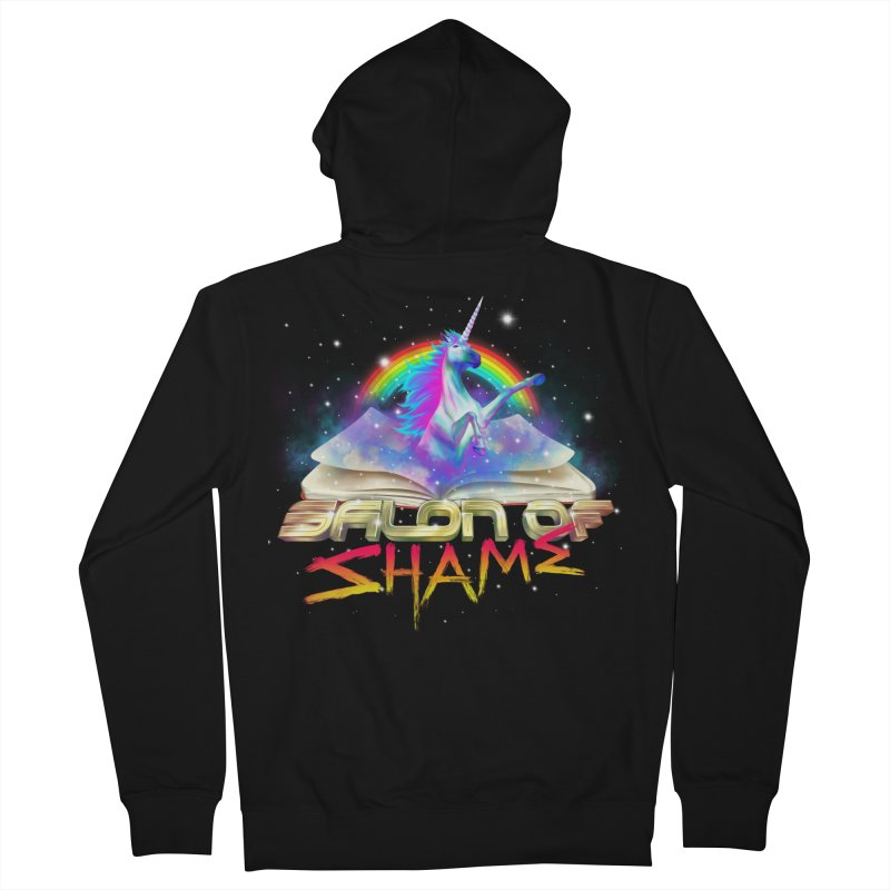 Salon of Shame Men's Zip-Up Hoody by thefloppyguy's Artist Shop