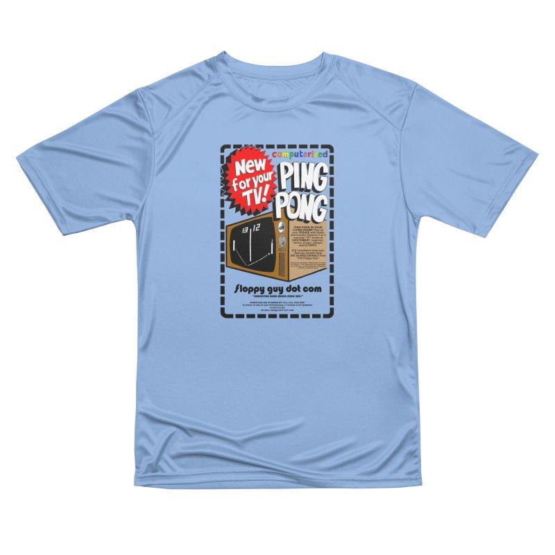 P I N G + P O N G Women's T-Shirt by the floppy guy