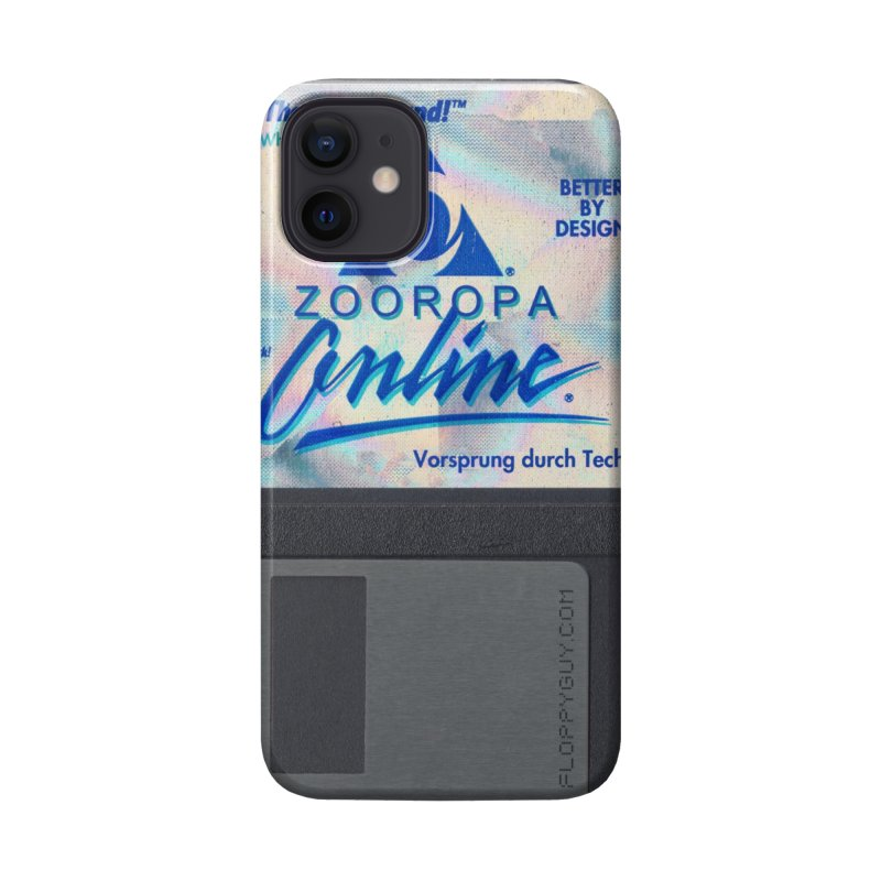 ZOOROPA Accessories Phone Case by the floppy guy
