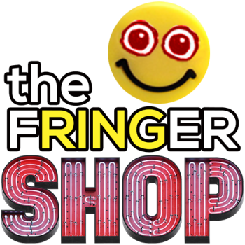 Shop/Display the FRINGER! Have A Nice Day Gesture! Logo