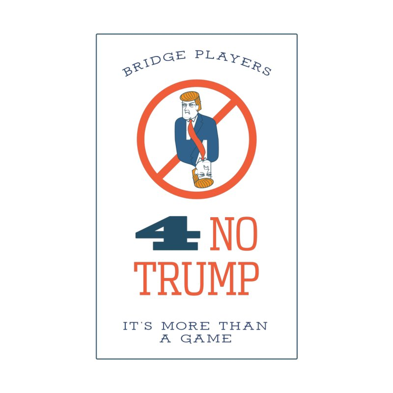 Bridge Players for No Trump by The Future Mrs. Darcy T-shirt Shop