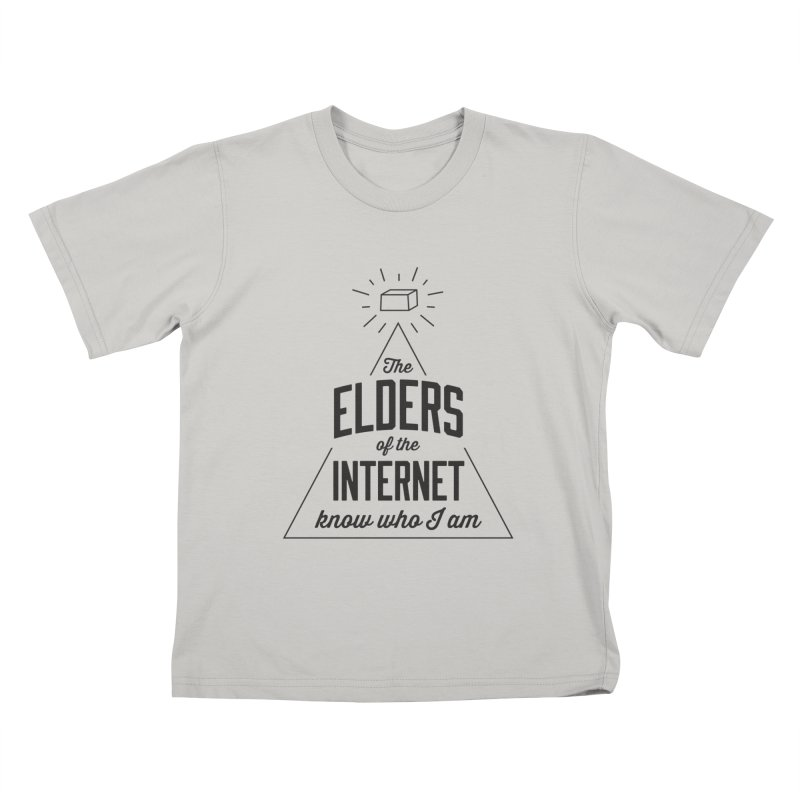The Elders of the Internet Kids T-shirt by The Future Mrs. Darcy T-shirt Shop