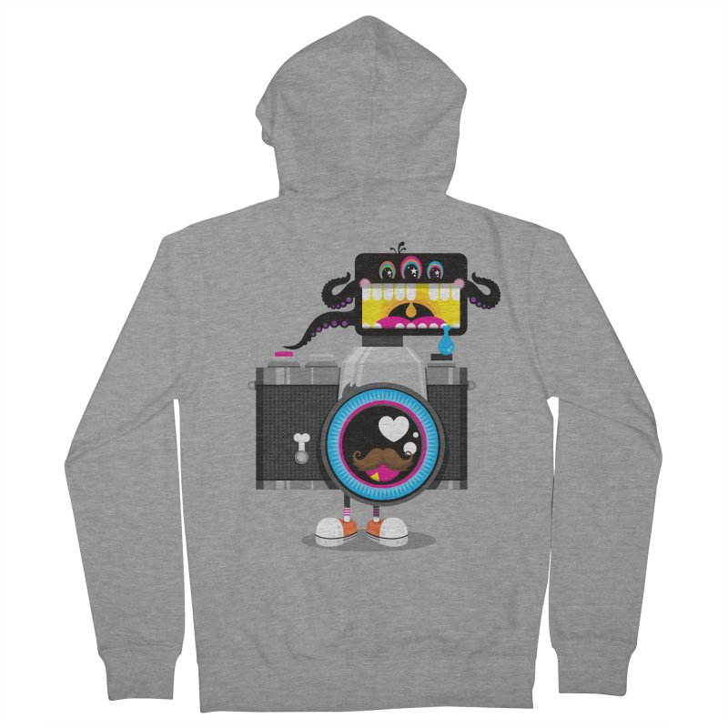 OH SNAP! Men's French Terry Zip-Up Hoody by theGHOSTHEART's artist shop