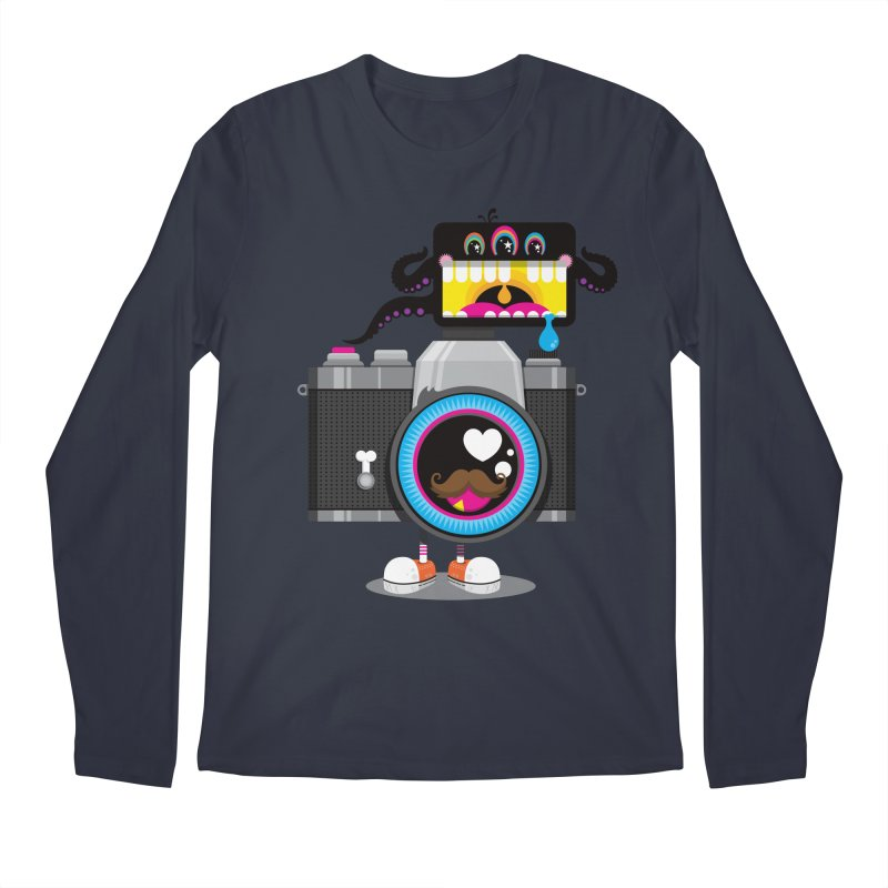 OH SNAP! Men's Regular Longsleeve T-Shirt by theGHOSTHEART's artist shop