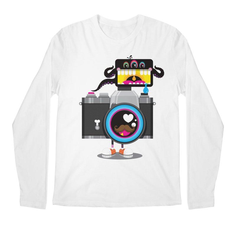 OH SNAP! Men's Regular Longsleeve T-Shirt by theGHOSTHEART's artist shop