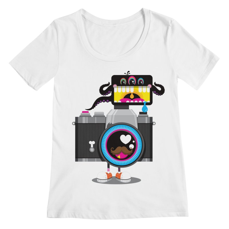 OH SNAP! Women's Regular Scoop Neck by theGHOSTHEART's artist shop
