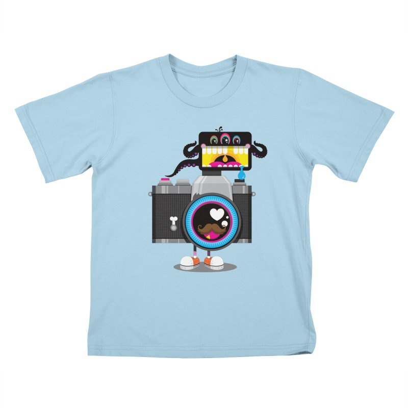 OH SNAP! Kids T-Shirt by theGHOSTHEART's artist shop