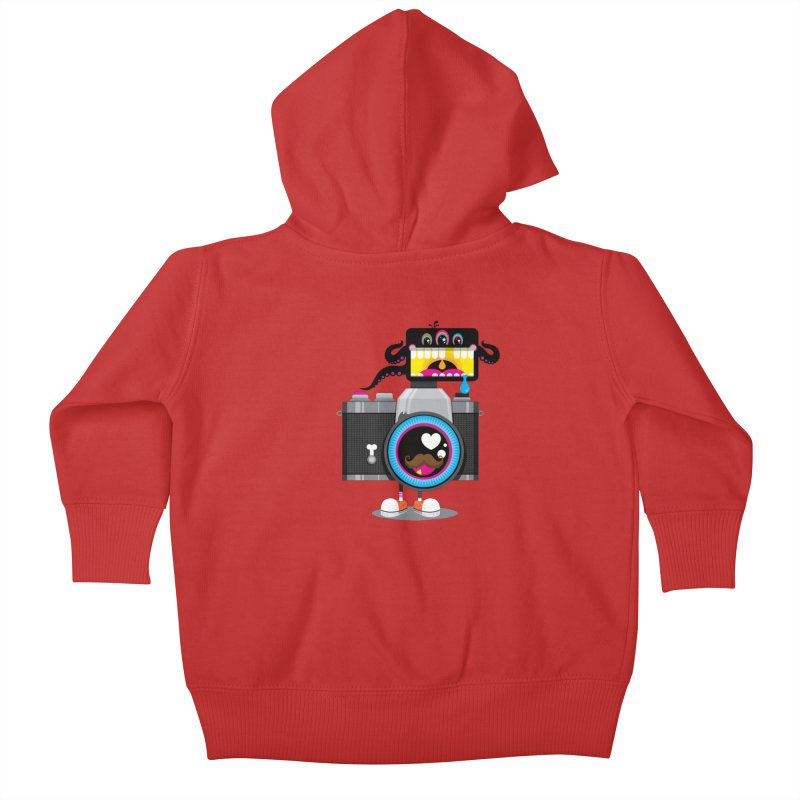 OH SNAP! Kids Baby Zip-Up Hoody by theGHOSTHEART's artist shop