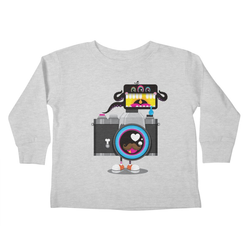 OH SNAP! Kids Toddler Longsleeve T-Shirt by theGHOSTHEART's artist shop