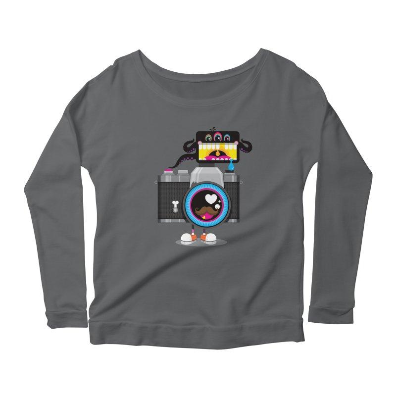 OH SNAP! Women's Scoop Neck Longsleeve T-Shirt by theGHOSTHEART's artist shop