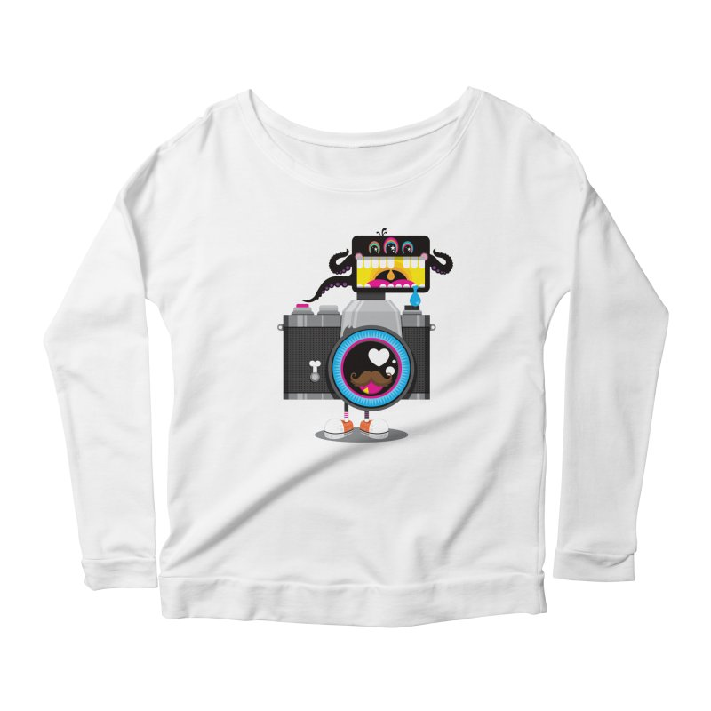 OH SNAP! Women's Scoop Neck Longsleeve T-Shirt by theGHOSTHEART's artist shop