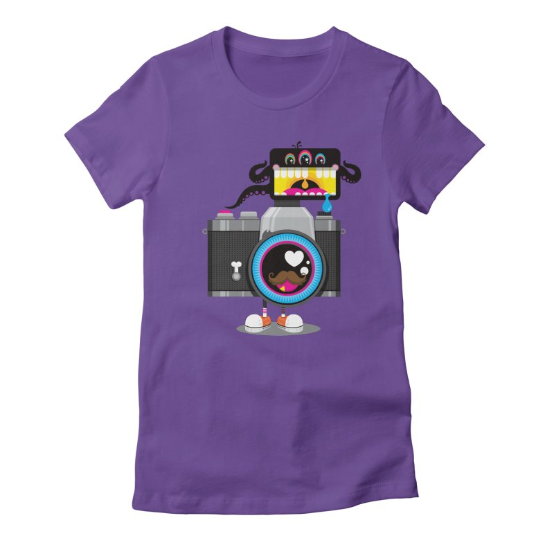 OH SNAP! Women's Fitted T-Shirt by theGHOSTHEART's artist shop