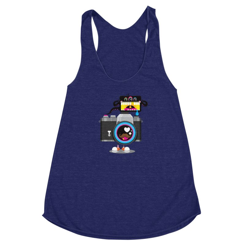 OH SNAP! Women's Racerback Triblend Tank by theGHOSTHEART's artist shop