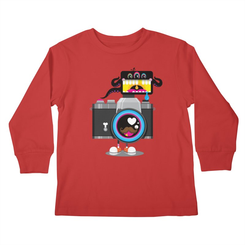 OH SNAP! Kids Longsleeve T-Shirt by theGHOSTHEART's artist shop