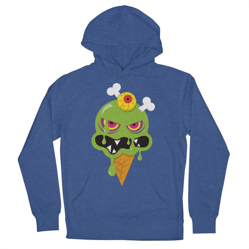 ICE-SCREAM Men's French Terry Pullover Hoody by theGHOSTHEART's artist shop