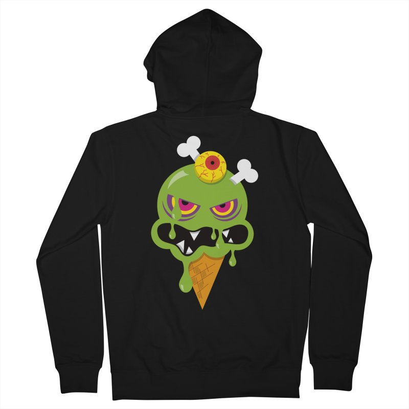 ICE-SCREAM Women's French Terry Zip-Up Hoody by theGHOSTHEART's artist shop