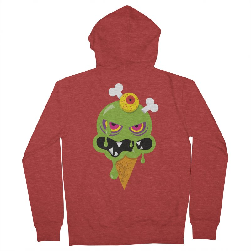 ICE-SCREAM Men's French Terry Zip-Up Hoody by theGHOSTHEART's artist shop