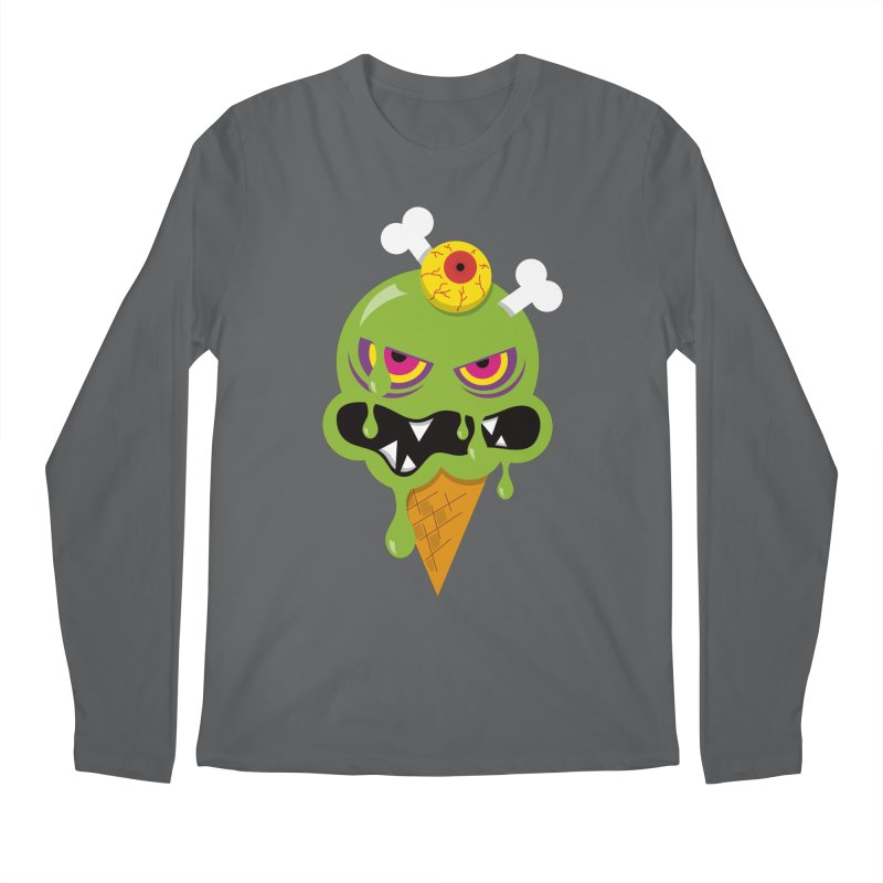 ICE-SCREAM Men's Regular Longsleeve T-Shirt by theGHOSTHEART's artist shop