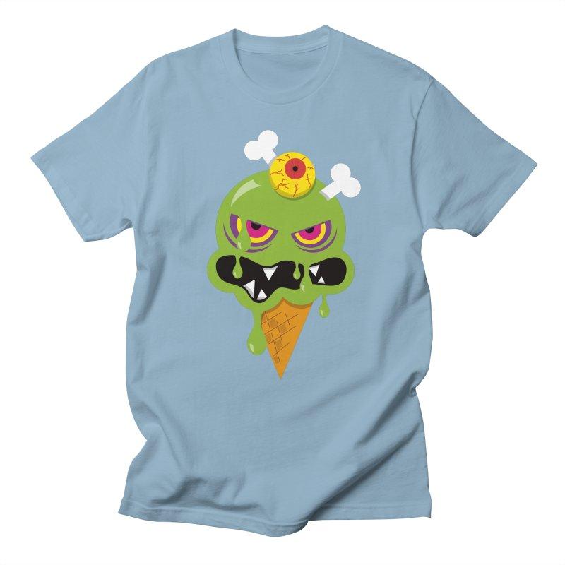 ICE-SCREAM Men's Regular T-Shirt by theGHOSTHEART's artist shop