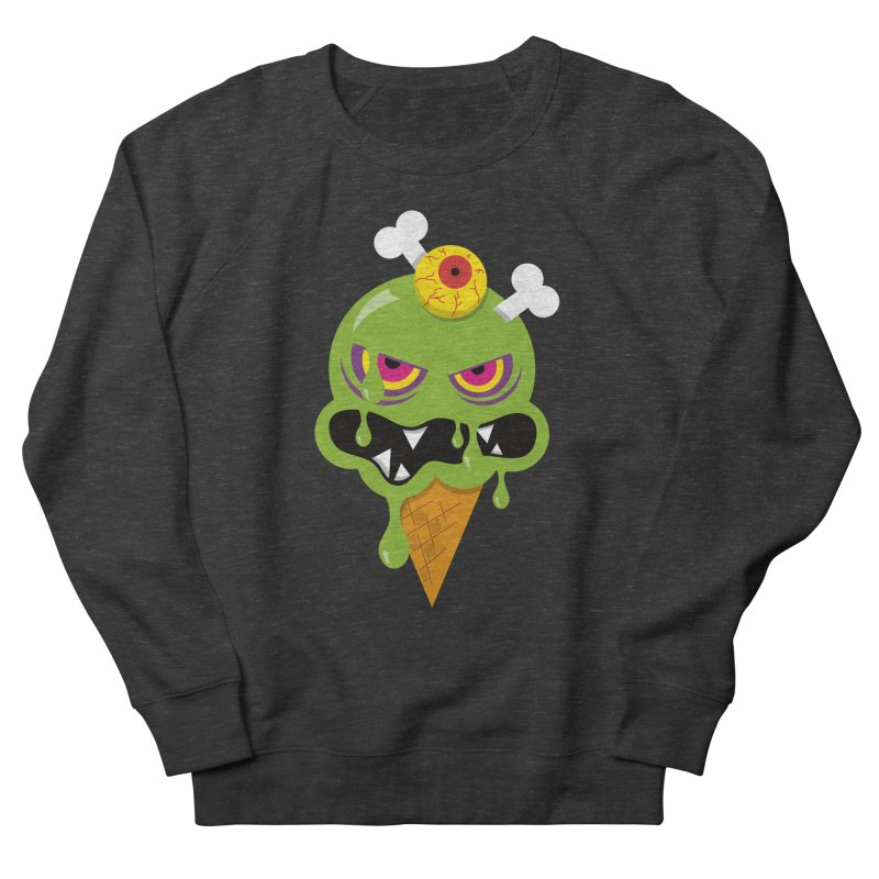 ICE-SCREAM Women's French Terry Sweatshirt by theGHOSTHEART's artist shop