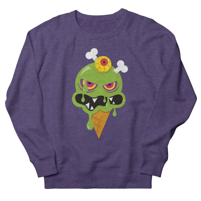ICE-SCREAM Women's French Terry Sweatshirt by theGHOSTHEART's artist shop