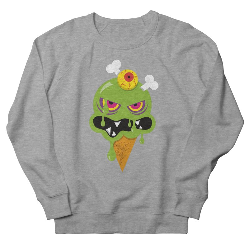 ICE-SCREAM Men's French Terry Sweatshirt by theGHOSTHEART's artist shop