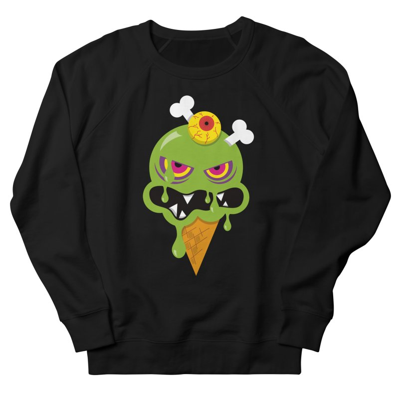 ICE-SCREAM Men's French Terry Sweatshirt by theGHOSTHEART's artist shop