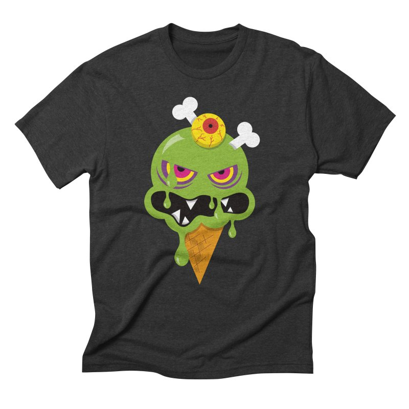 ICE-SCREAM Men's Triblend T-Shirt by theGHOSTHEART's artist shop