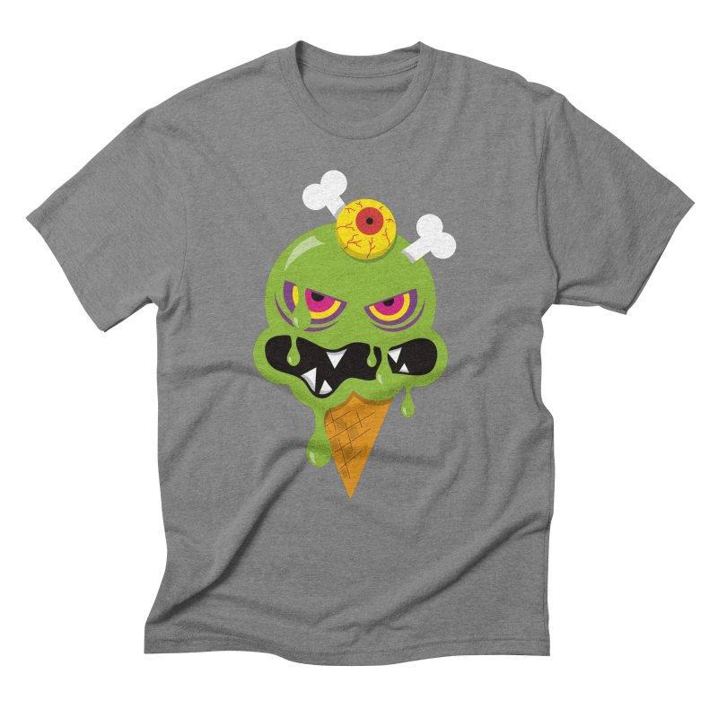 ICE-SCREAM Men's Triblend T-Shirt by theGHOSTHEART's artist shop