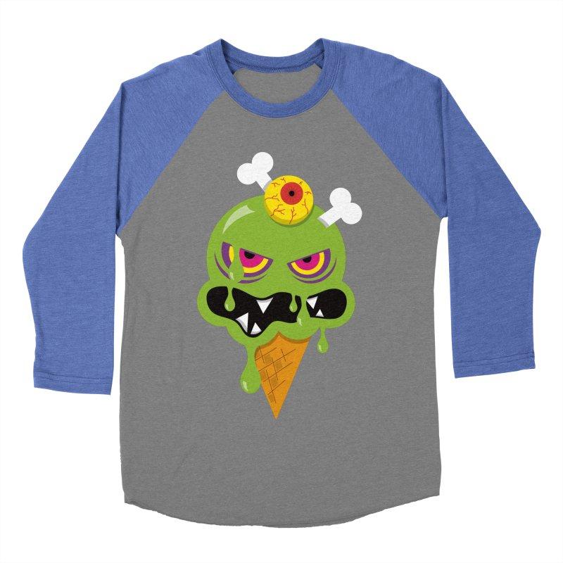 ICE-SCREAM Women's Baseball Triblend Longsleeve T-Shirt by theGHOSTHEART's artist shop