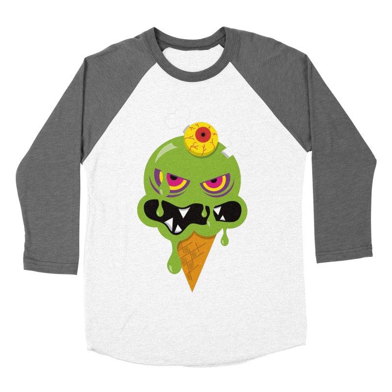 ICE-SCREAM Men's Baseball Triblend Longsleeve T-Shirt by theGHOSTHEART's artist shop
