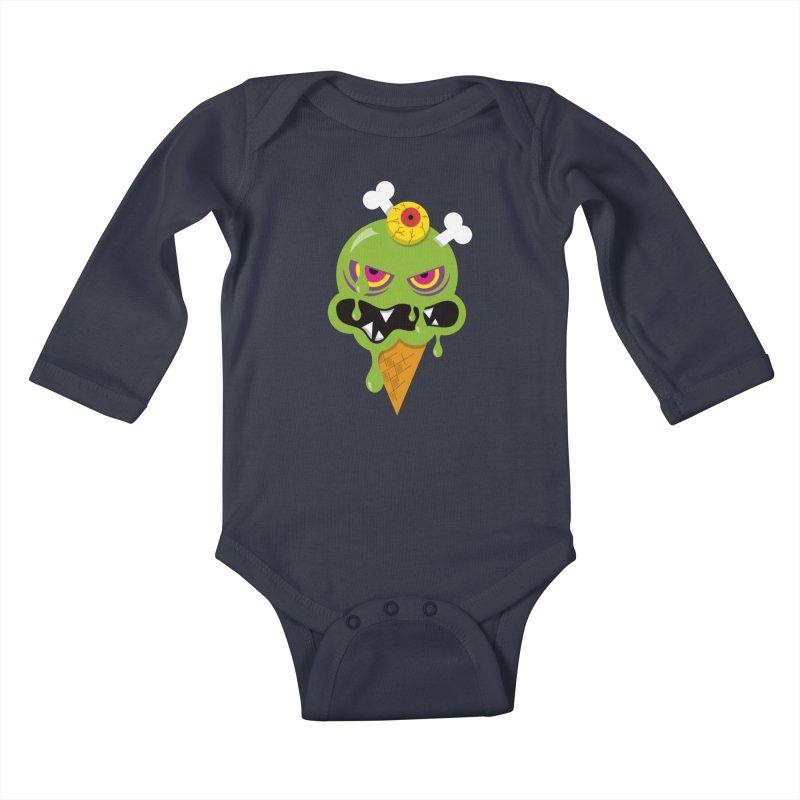 ICE-SCREAM Kids Baby Longsleeve Bodysuit by theGHOSTHEART's artist shop