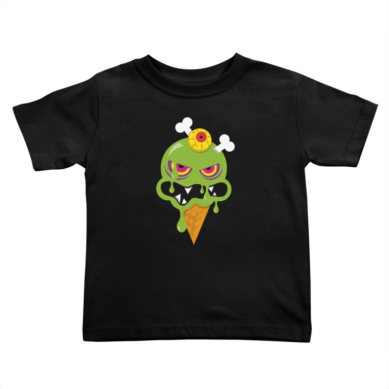 ICE-SCREAM Kids Toddler T-Shirt by theGHOSTHEART's artist shop