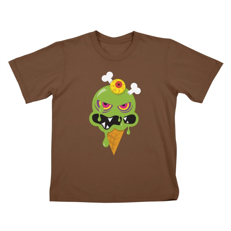 ICE-SCREAM Kids T-Shirt by theGHOSTHEART's artist shop