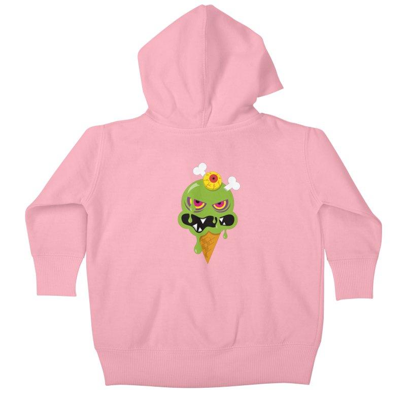 ICE-SCREAM Kids Baby Zip-Up Hoody by theGHOSTHEART's artist shop